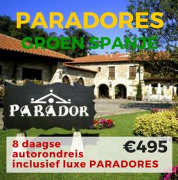 8 daagse autorondreis Paradores & Groen Spanje