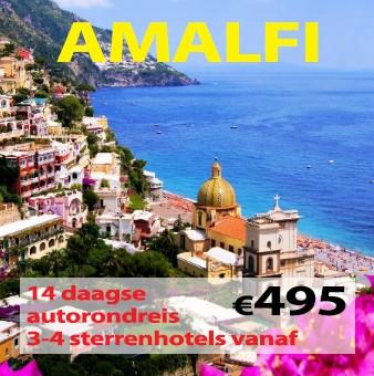 14 daagse autorondreis van Rome naar Amalfi