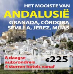 8-11 daagse autorondreis Mooiste van Andalusië