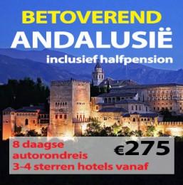 8 daagse autorondreis Betoverend Andalusie HP
