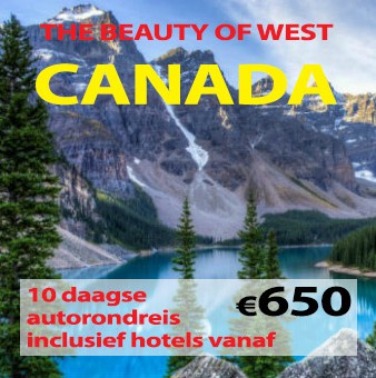 10 daagse autorondreis The Beauty of West Canada