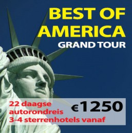 22 daagse autorondreis Best of America