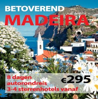 8-11 daagse autorondreis Betoverend Madeira