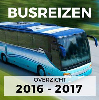 Busreizen overzicht 2016-2017