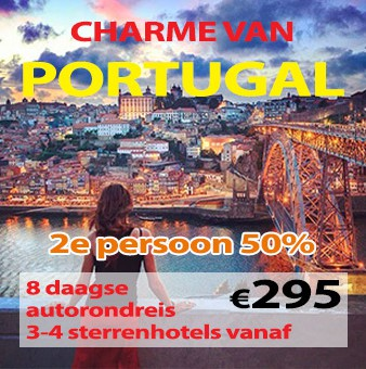 8 daagse autorondreis Charme van Portugal