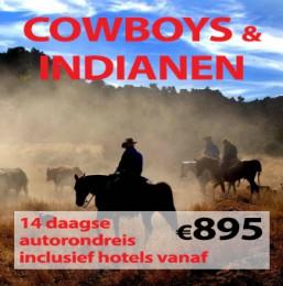 14 daagse autorondreis Cowboys & Indianen