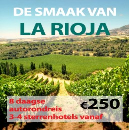 8 daagse autorondreis De Smaak van La Rioja