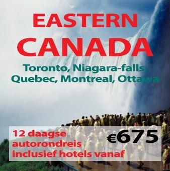 12 daagse autorondreis Eastern Canada
