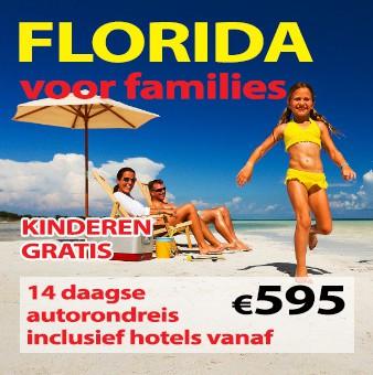 14 daagse autorondreis Florida voor Families
