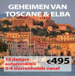 13 daagse autorondreis Geheimen van de Toscane & Elba