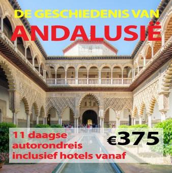 11 daagse autorondreis De Geschiedenis van Andalusië