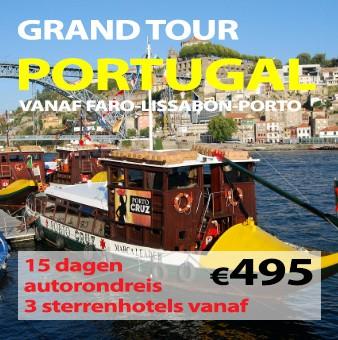 15 daagse autorondreis Grand Tour Portugal