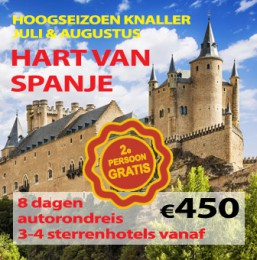 8 daagse autorondreis Hart van Spanje