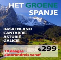 10 daagse autorondreis Het Groene Spanje