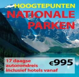 17 dagen Hoogtepunten Nationale Parken