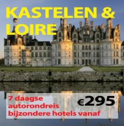 7 daagse autorondreis Kastelen & Loire