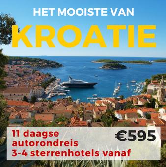 11 daagse autorondreis Het Mooiste van Kroatië