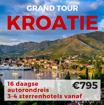 16 daagse autorondreis Grand Tour Kroatië
