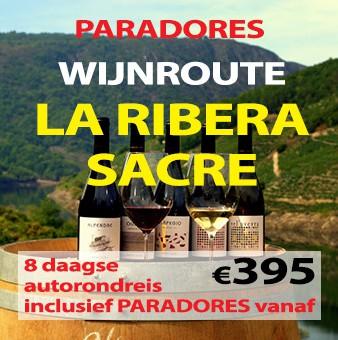 8 daagse autorondreis Paradores Route La Ribeira Sacre