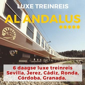 6 daags arrangement incl. 4 dg Luxe Treinreis Al Andalus *****