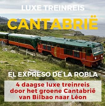 Luxe Treinreis door Groen Cantabrië