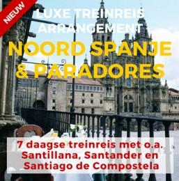 7 daagse Luxe Treinreis El Cantabrico Clasico & Paradores/Charme