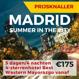 MADRID Summer in the City 5dagen/4nachten