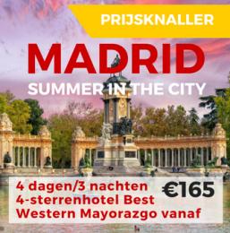 MADRID Summer in the City 4 dagen/3 nachten