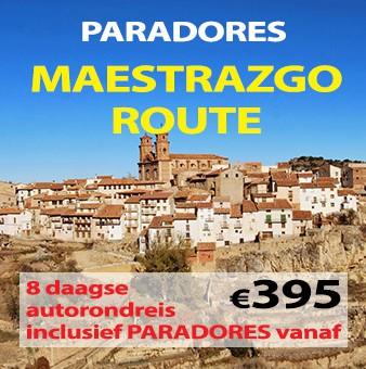8 daagse autorondreis Paradores Maestrazgo
