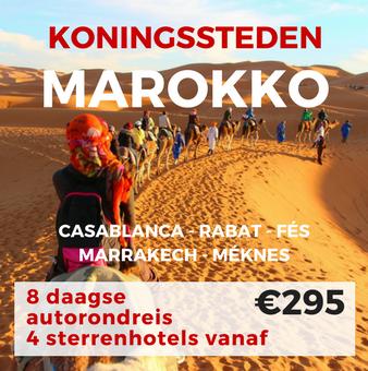 8 daagse autorondreis Marokko-Koningssteden