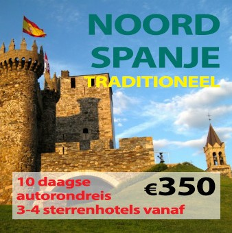 10 daagse autorondreis Traditioneel Noord Spanje