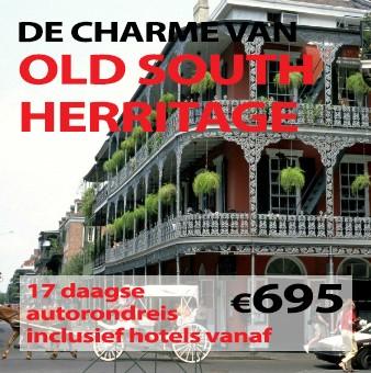 17 daagse autorondreis Old South Heritage
