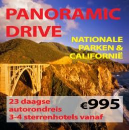 23 daagse autorondreis Westkust Panoramic Drive