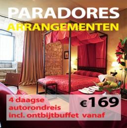 4 daagse Paradores Arrangementen €169