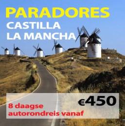 8 daagse autorondreis Paradores Castilla & La Mancha