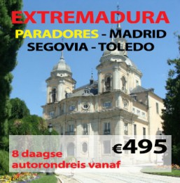 8 daagse autorondreis Paradores Extremadura