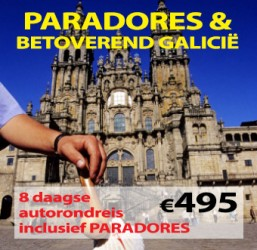 8 daagse autorondreis Paradores Betoverend Galicië