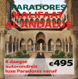 8 daagse autorondreis Paradores Kalifaat Al Andalus