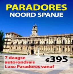 7 dagen Paradores Noord Spanje nu vanaf €395