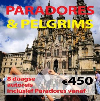 8 daagse autoreis Paradores & Pelgrims