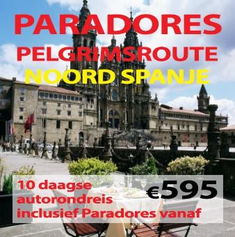 10 daagse Paradores pelgrimsroute & noord Spanje