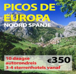 10 daagse autorondreis Picos de Europa