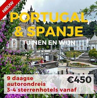 9 daagse autorondreis Tuinen & Wijn Portugal & Spanje
