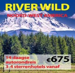 14 daagse autorondreis River Wild