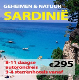8-11 daagse autorondreis Geheimen & Natuur van Sardinië
