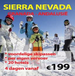 Wintersport Sierra Nevada 2015/2016
