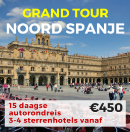 15 daagse autorondreis Grand Tour Noord Spanje