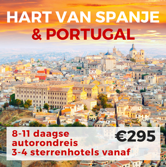 8-11 daagse autorondreis Hart van Spanje & Portugal