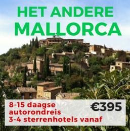 8-15 daagse autorondreis Het Andere MALLORCA
