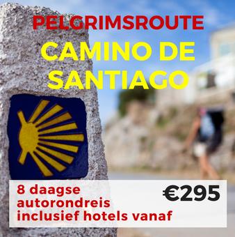 8 daagse autorondreis Pelgrimsroute en Noord Spanje